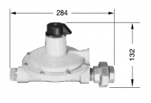 SECOND STAGE REGULATORS LS 30HA - 30 KG