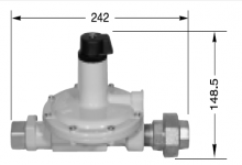 SECOND STAGE REGULATORS KLS 20B - 20 KG