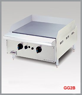 GAS GRIDDLE WITH TABLE TOP GG2B