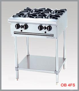 OPEN BURNER WITH FREE STANDING