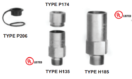 EXTERNAL RELIEF VALVES