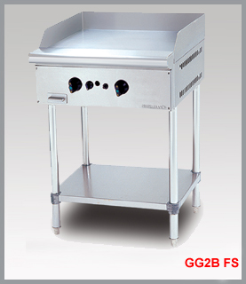 GAS GRIDDLE WITH FREE STANDING GG2BFS